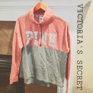 VICTORIA'S SECRET PINK Pullover ¼ Zip Sweater